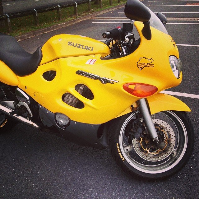My old Suzuki GSX600F